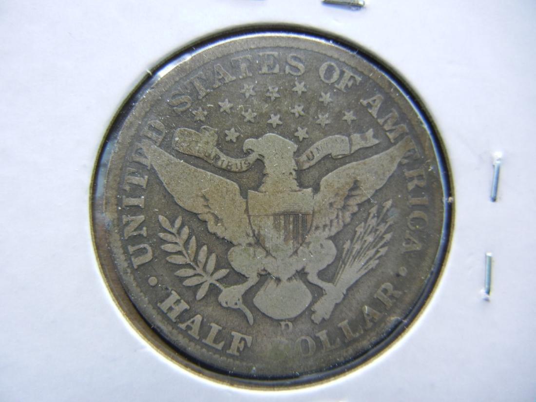1908-D Barber Half Dollar - 2