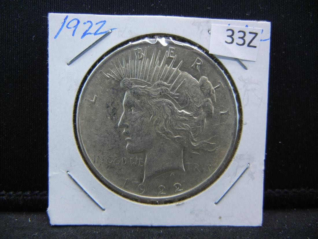 1922 Peace Dollar - 3