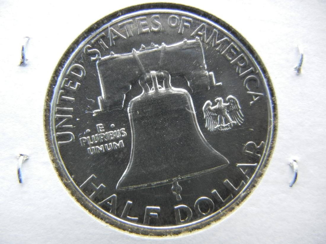 1961 Franklin Half Dollar - 2
