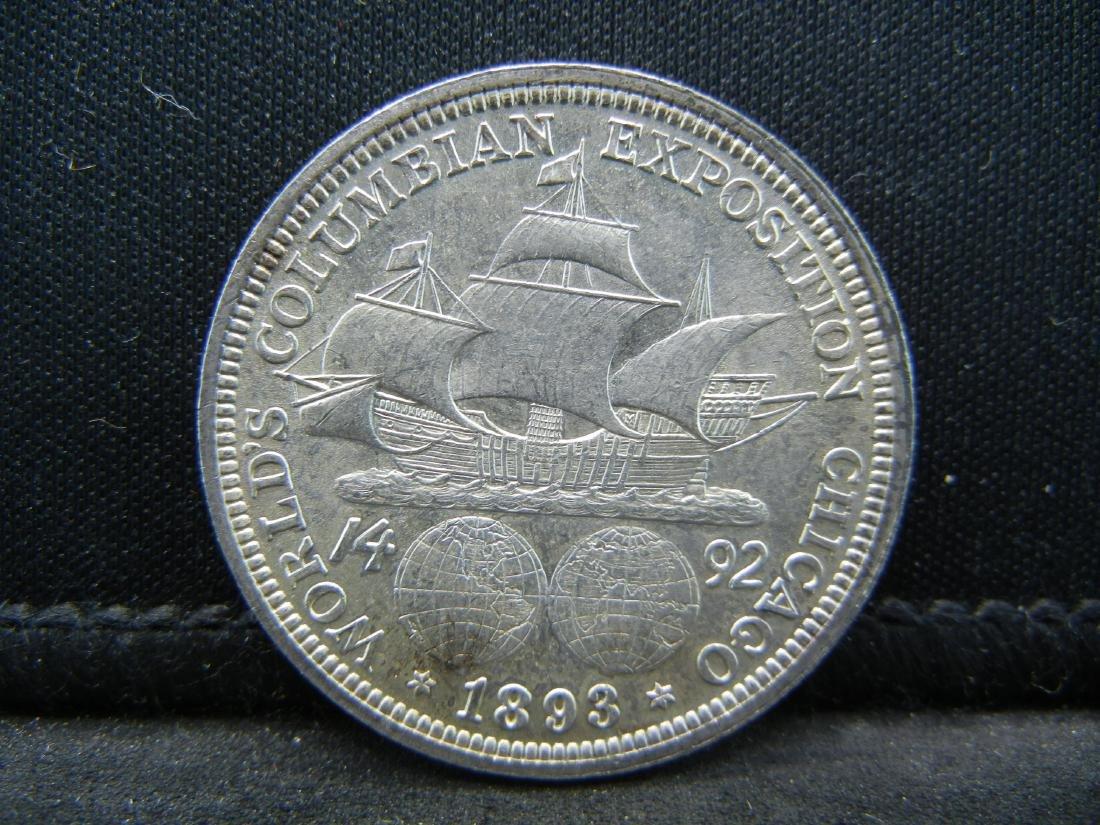 1893 Columbian World Exposition Comemorative Half - 2