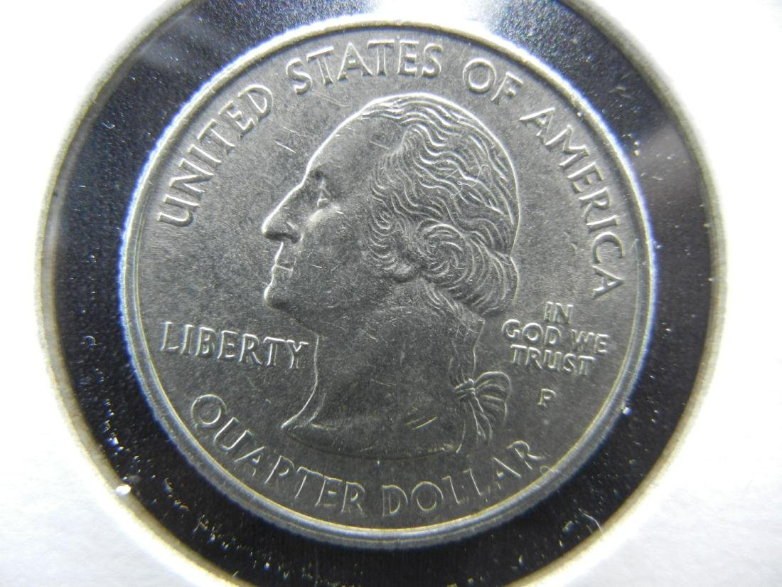2002 Tennessee Colorized Washington State Quarter - 2