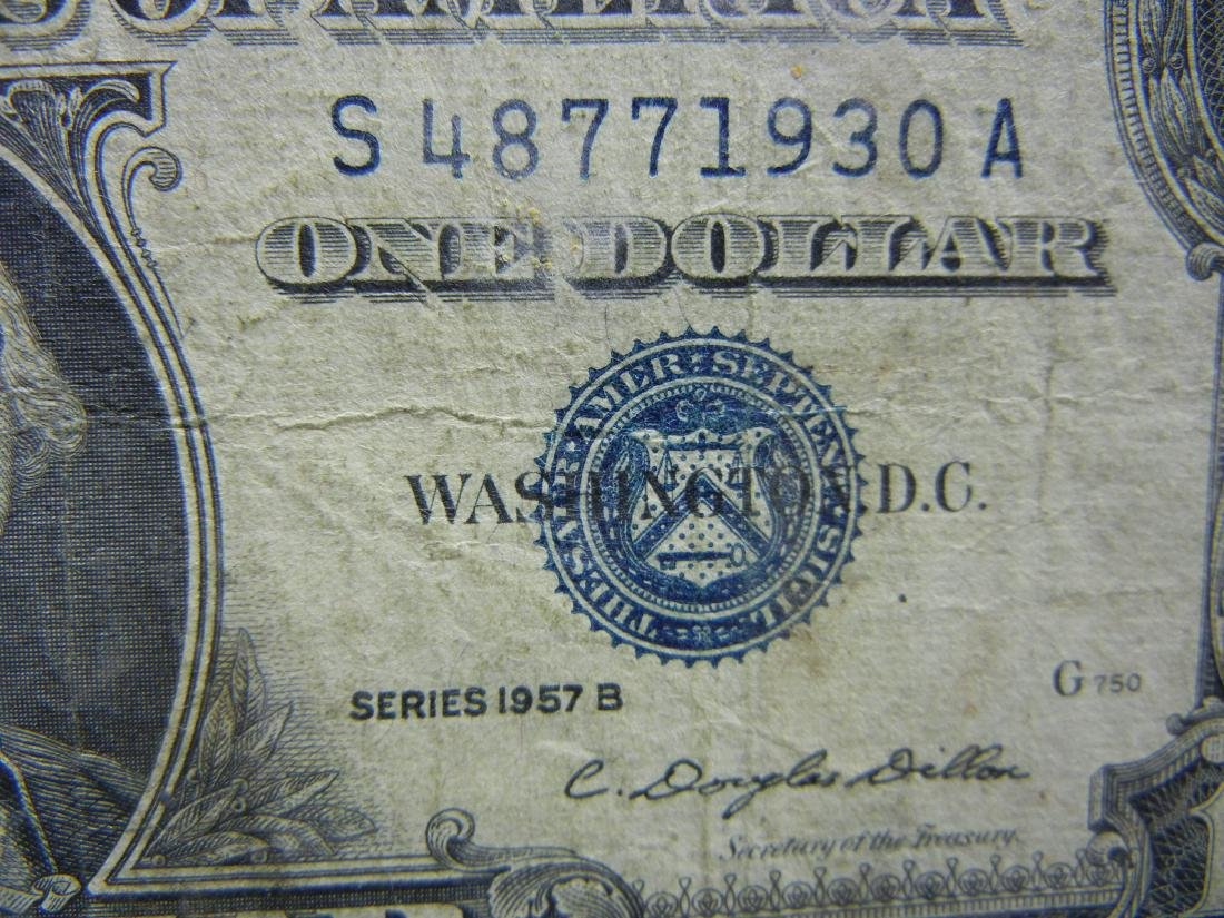 20 1957 One Dollar Silver Certificates - 9