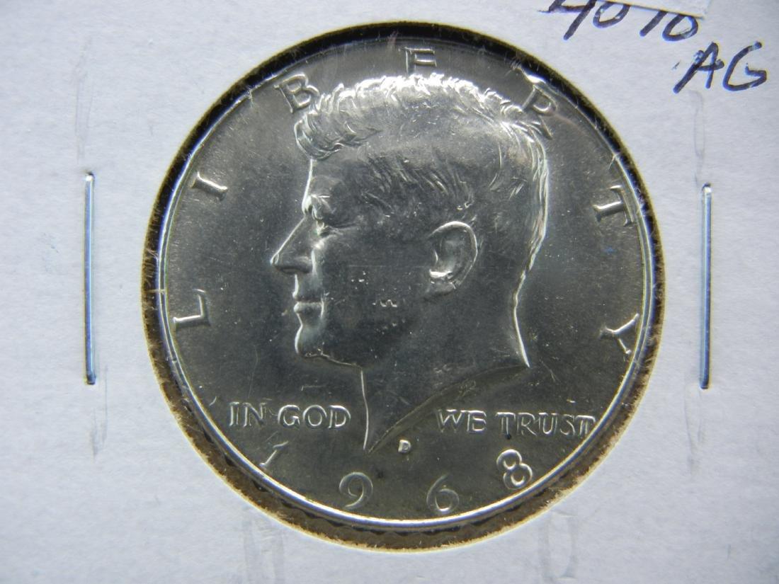 1968-D Kennedy Half Dollar
