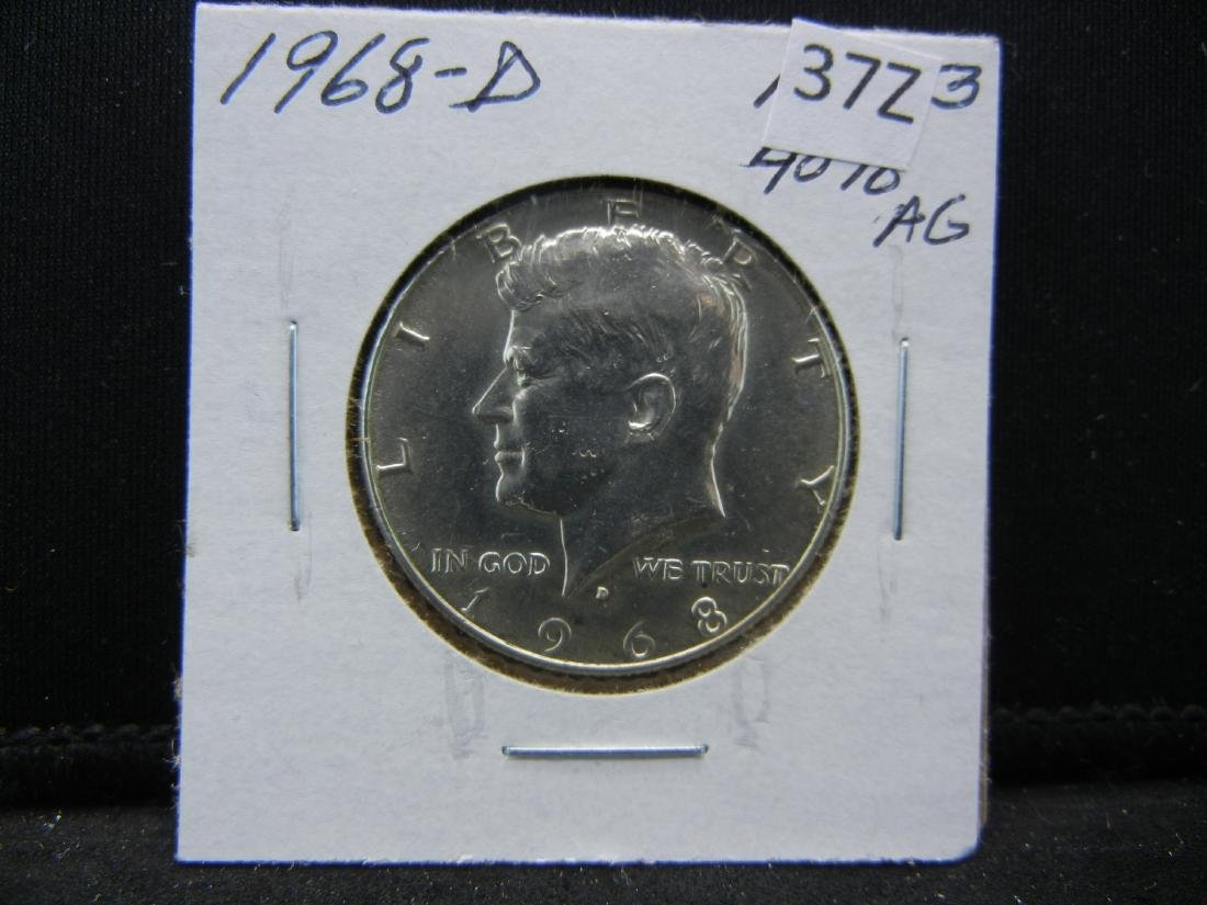1968-D Kennedy Half Dollar - 3