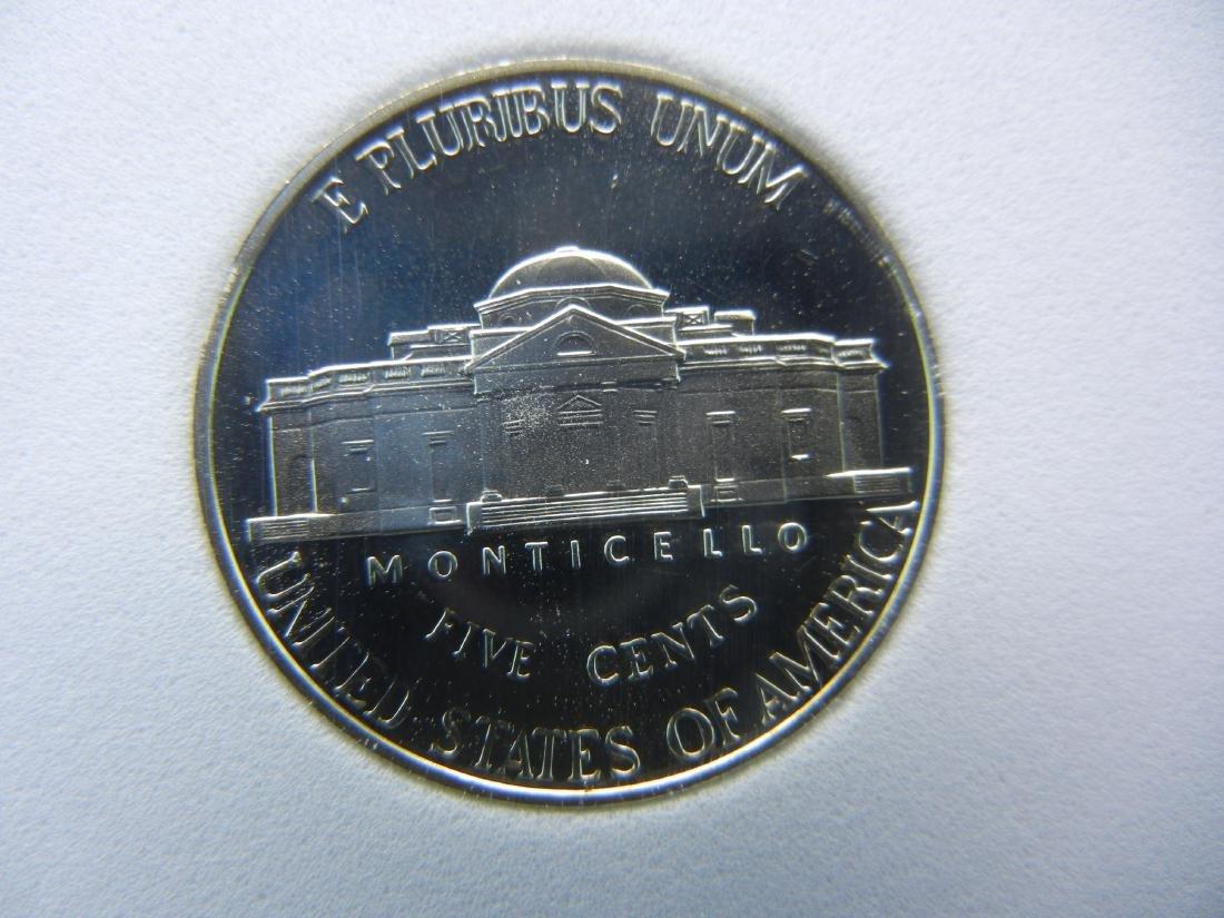 2001 S SGS PR70CAM Jefferson Nickel Perfect Coin - 3