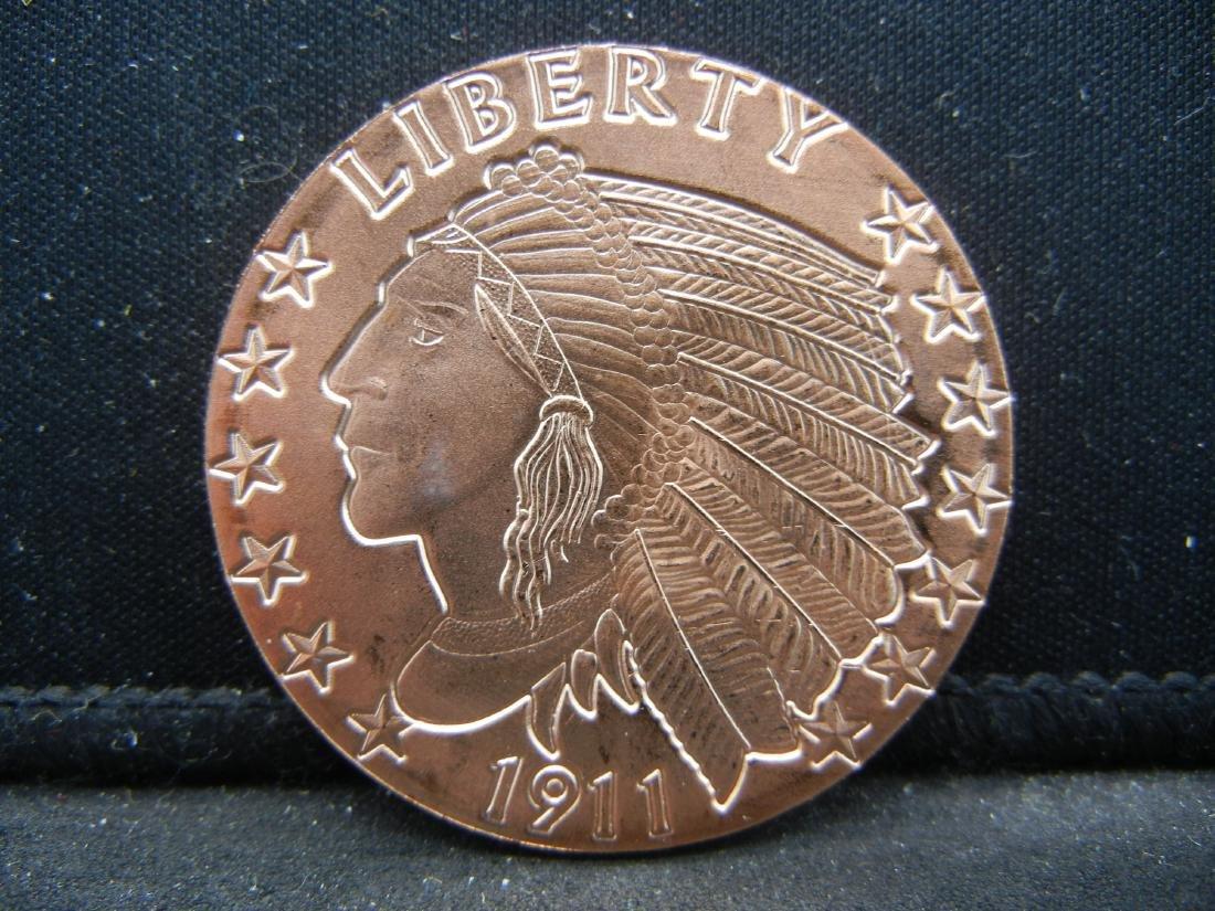 Indian Coper .999 Fine Copper
