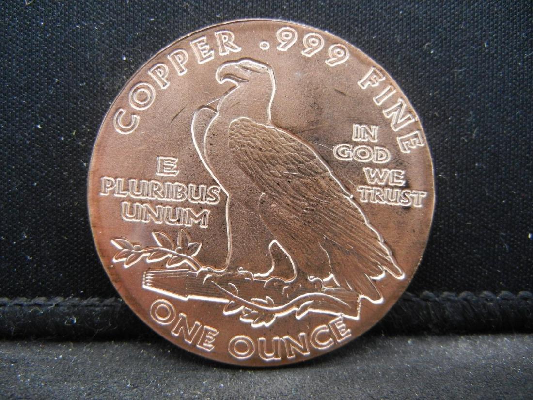 Indian Coper .999 Fine Copper - 2