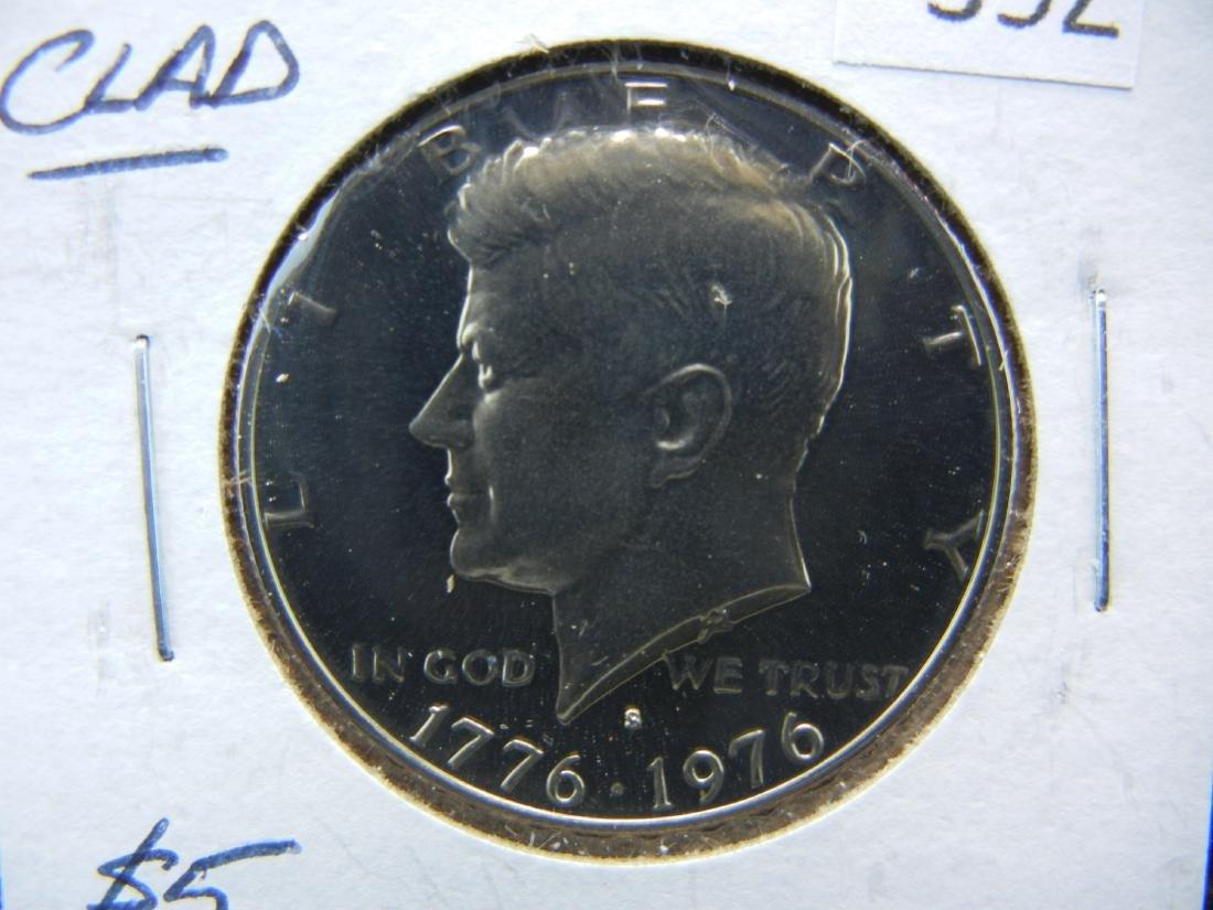1976-S CLAD Kennedy Half Dollar