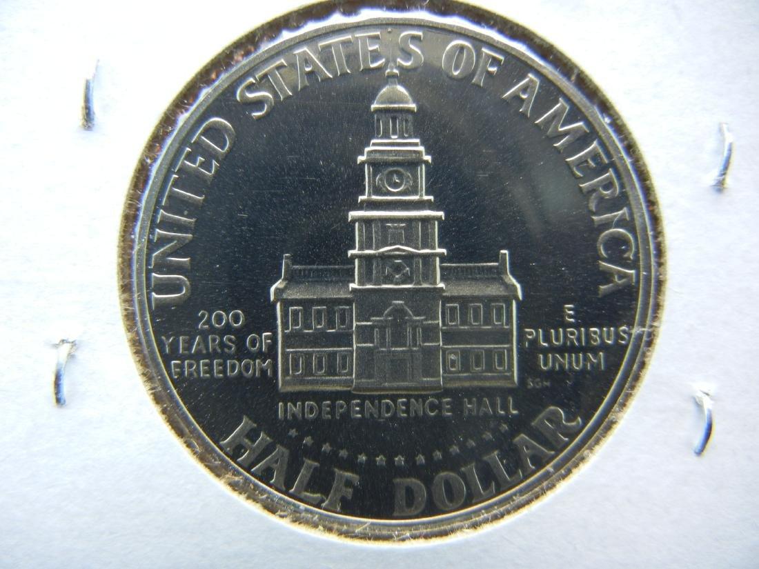 1976-S CLAD Kennedy Half Dollar - 2
