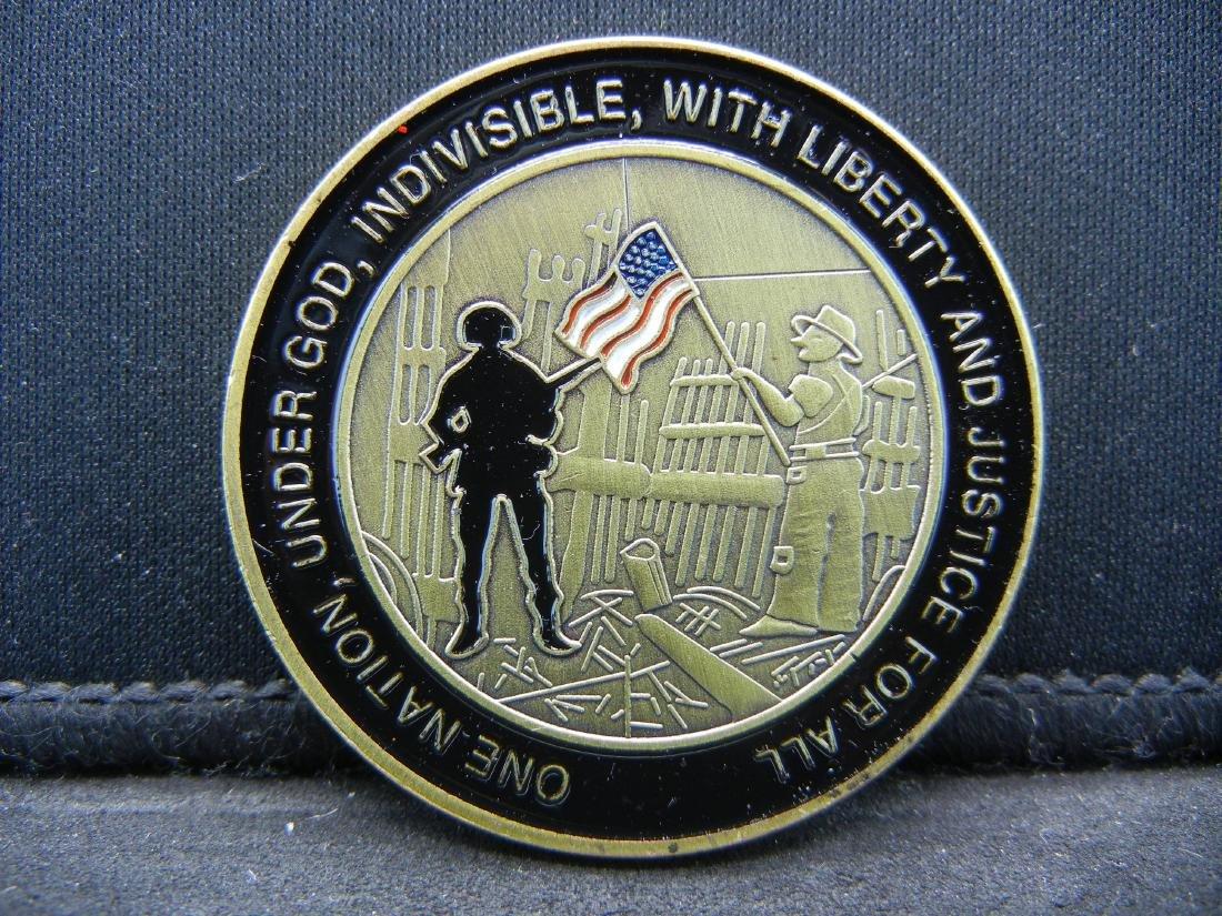 11 September 2001 Honoring and Rembering Medal