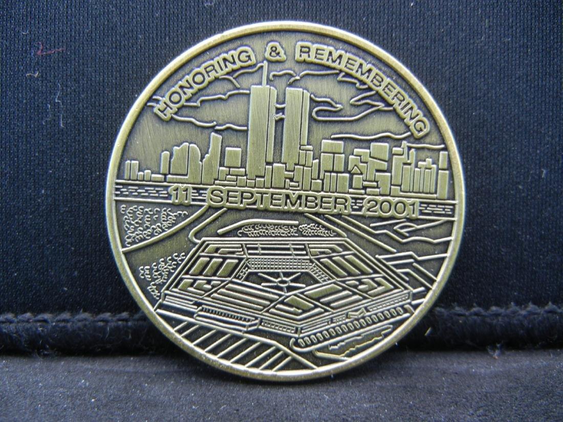 11 September 2001 Honoring and Rembering Medal - 2