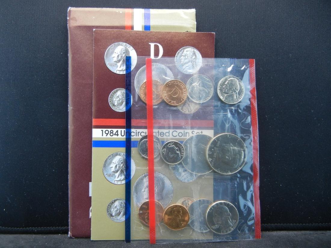 1984-P, D UNC Mint Set