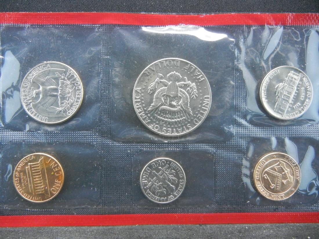 1984-P, D UNC Mint Set - 3