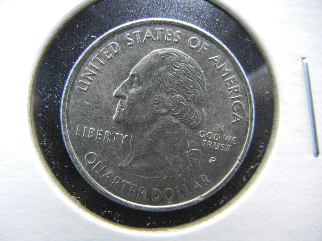 Connecticut Colorized Washington State Quarter - 2