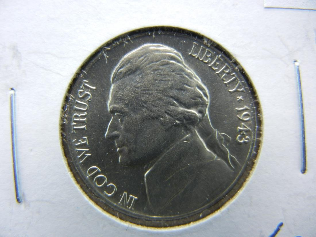 1943-P Silver Jefferson Nickel