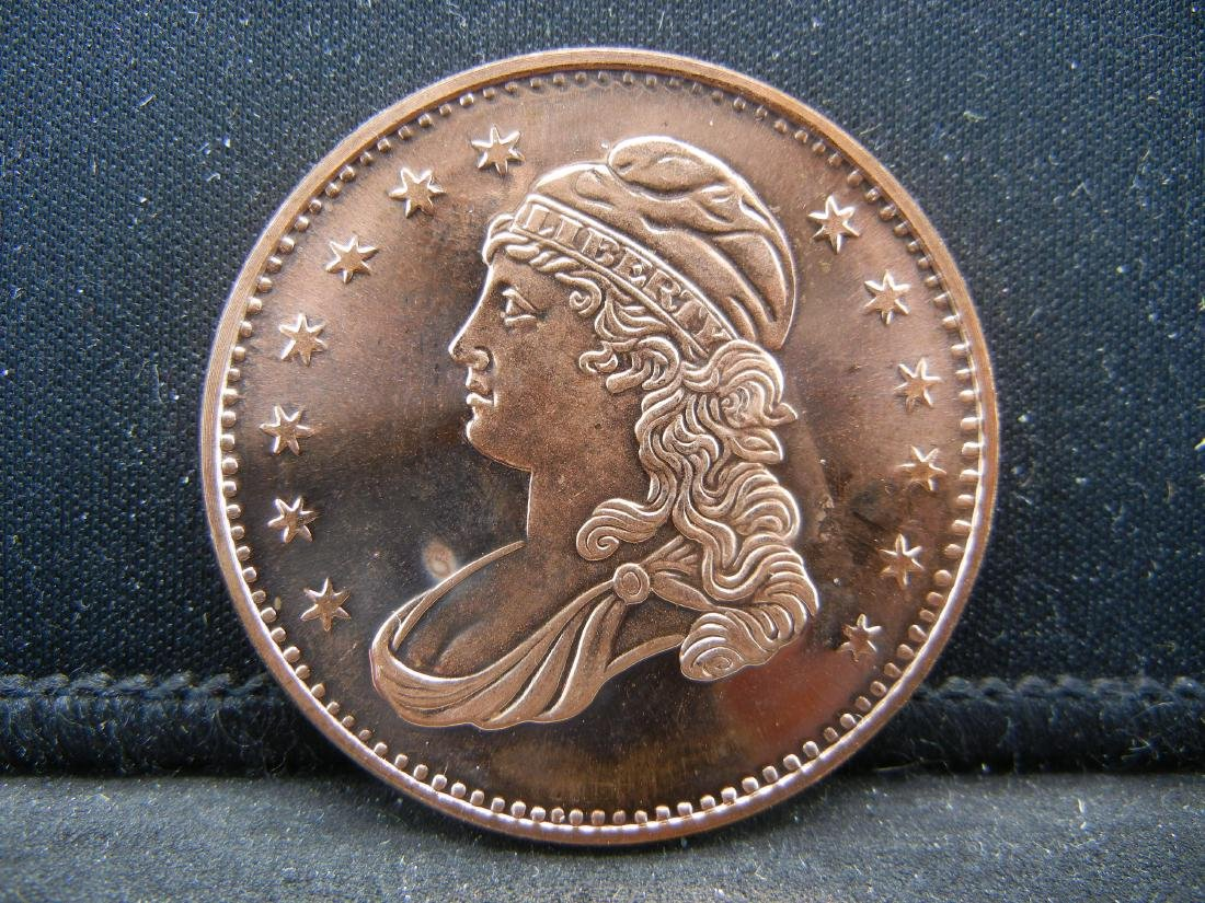 Liberty Copper .999 Fine