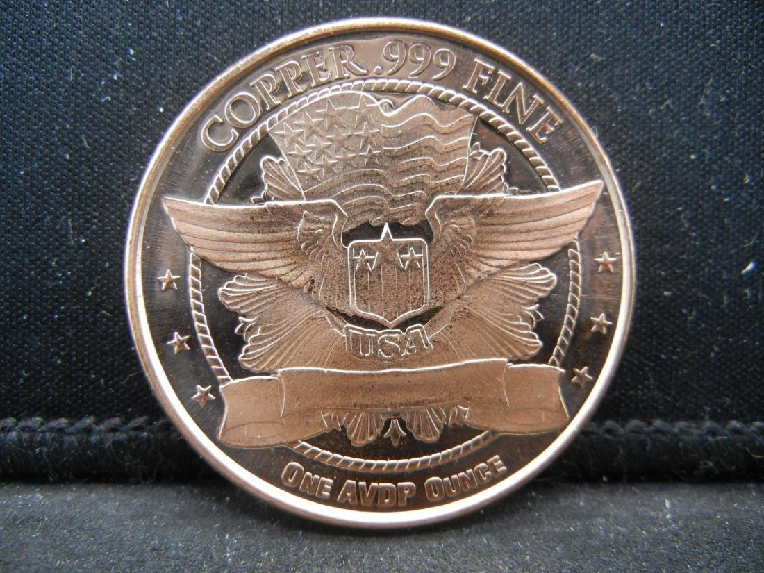 Liberty Copper .999 Fine - 2