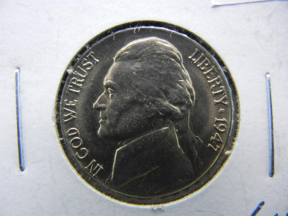1947 Jefferson Nickel