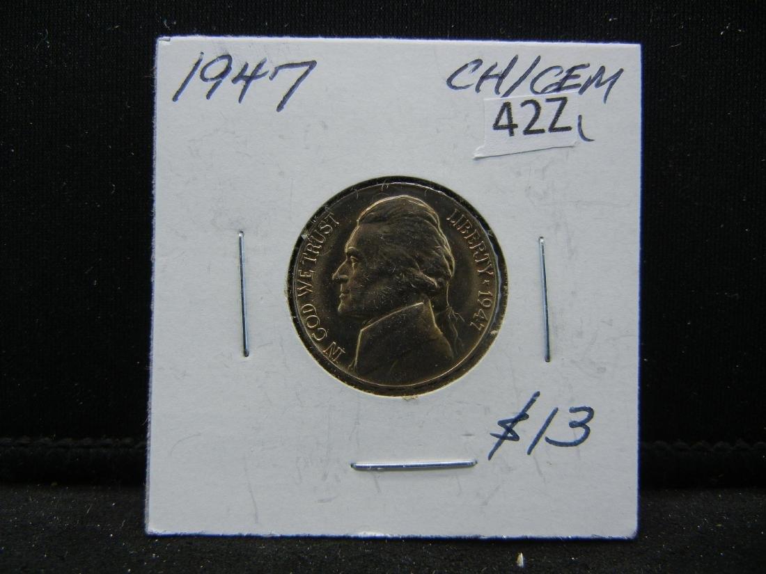 1947 Jefferson Nickel - 3