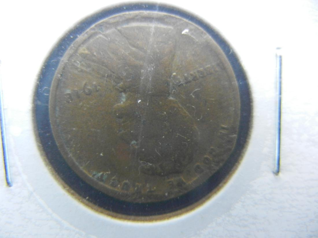 1918-P, D, S Lincoln Wheat Cents - 2