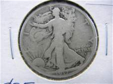 1917D Walking Liberty Half Dollar