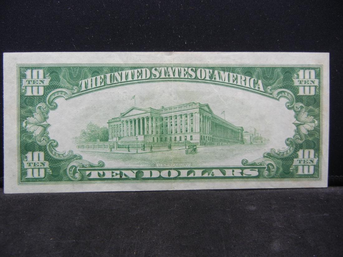1928-B $10 Federal Reserve Note, Nice Crisp Note. - 3