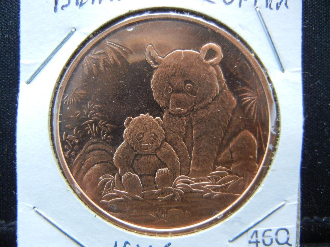 Bear Copper .999 Fine Copper