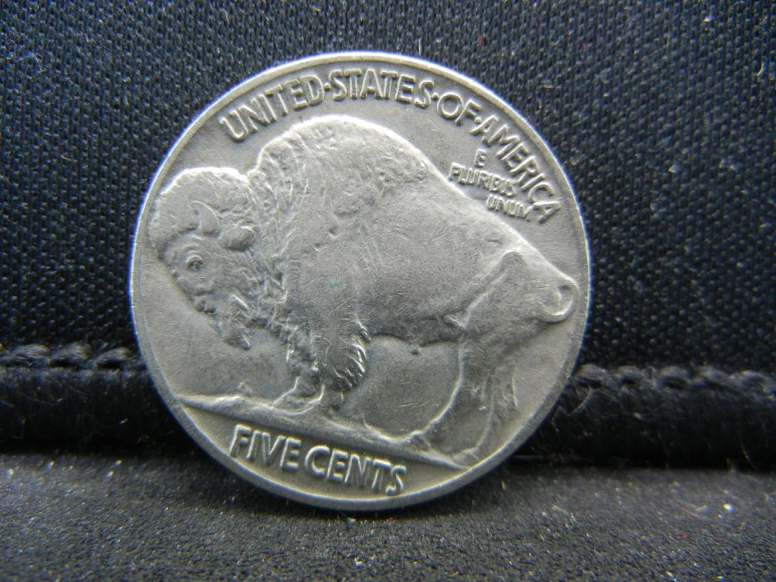 1937 Buffalo Nickel, Bold Full Horn, Almost - 2
