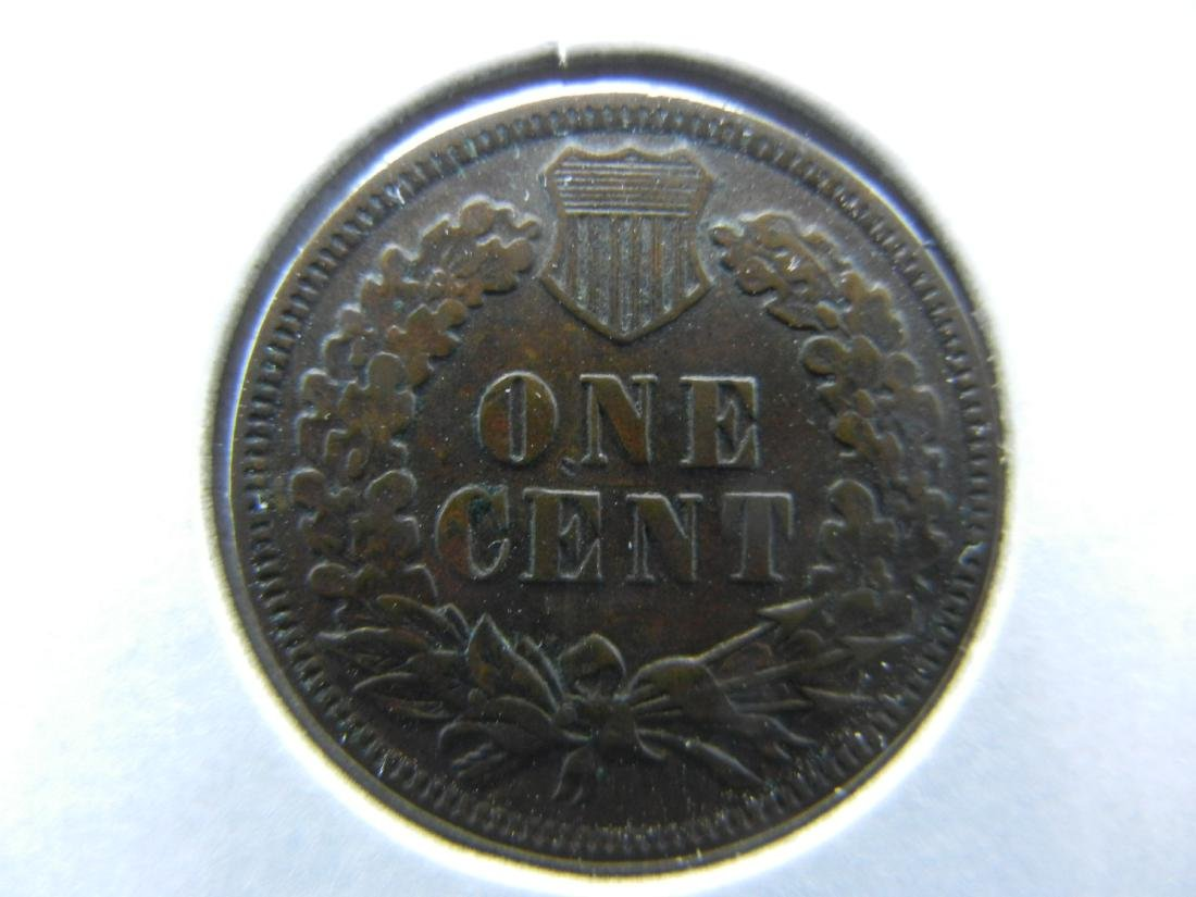 1892 Indian Cent Choice Very Fine - 2