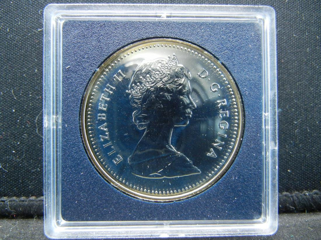 "1988 Canadian ""Ironworks Anniversary"" Uncirculated 50% - 3"