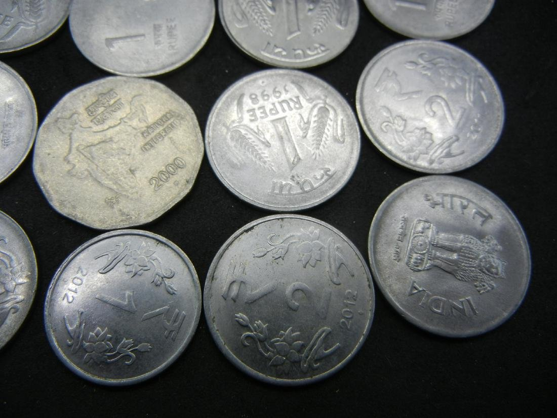 15 Indian Coins - 2