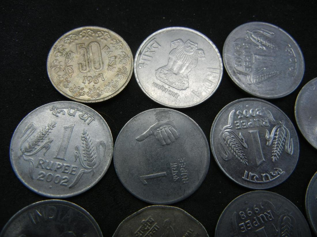 15 Indian Coins - 3