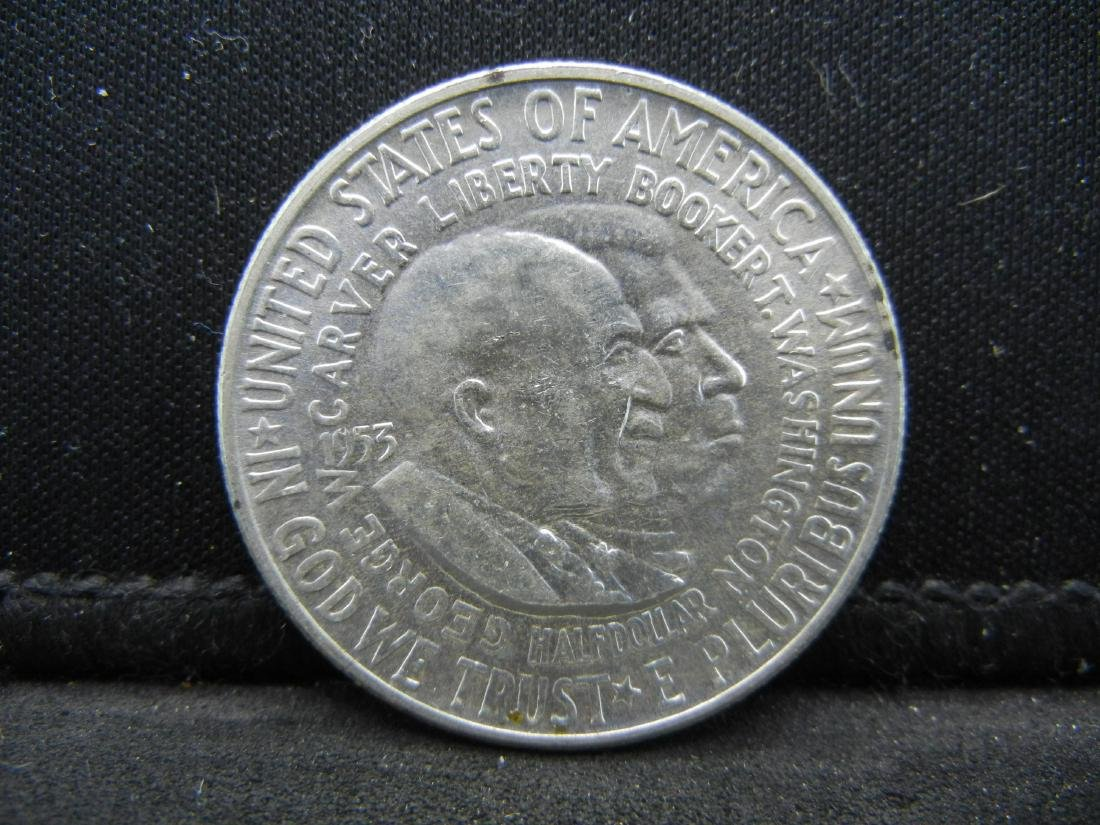 1953-D Washington-Carver Uncirculated Commemorative