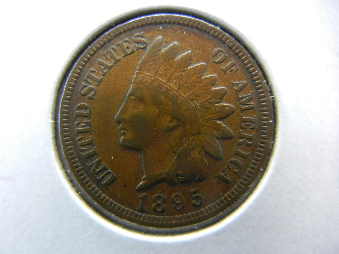 1895 Indian Cent Choice Very Fine