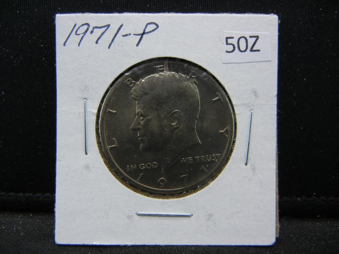 1971 Kennedy Half Dollar - 3