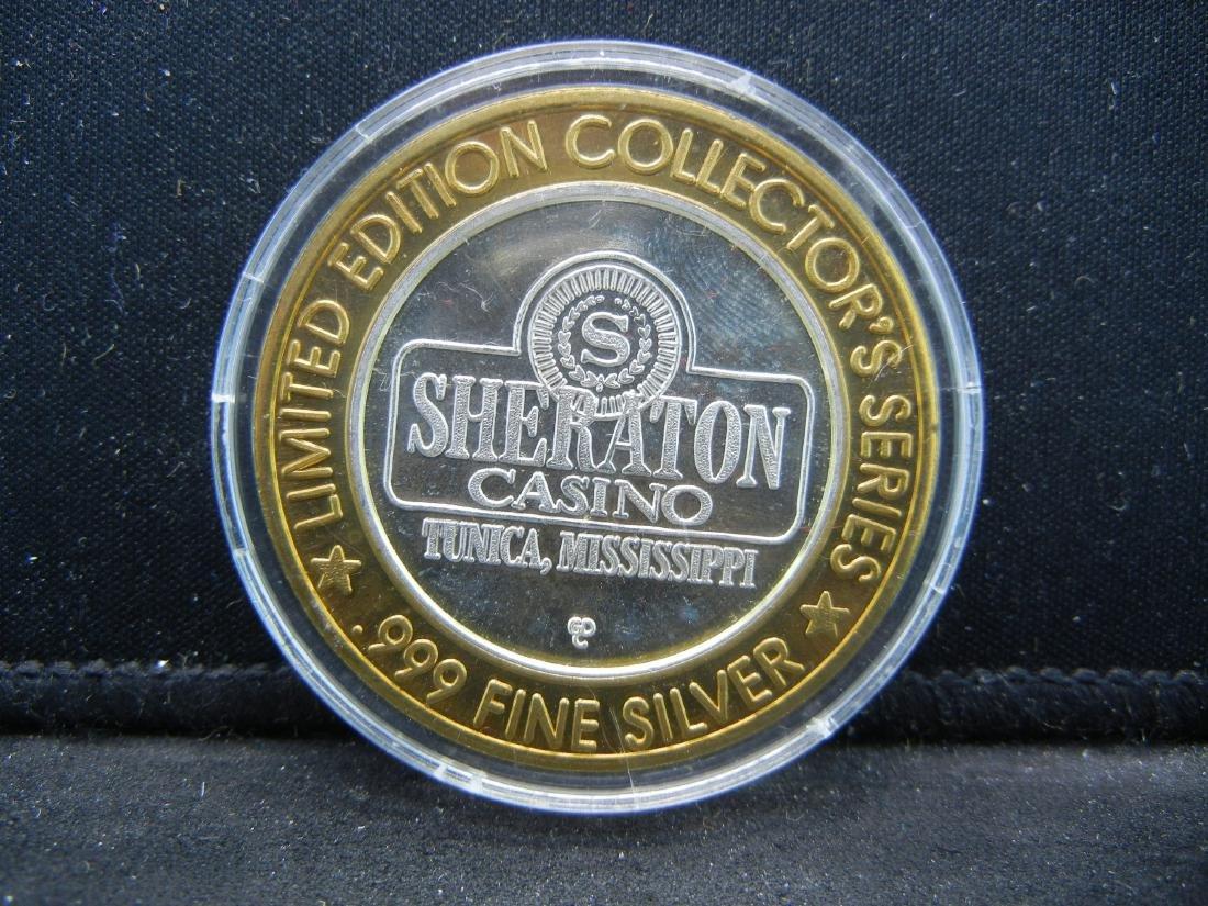 Las Vegas $10 Silver Gaming Token - 2