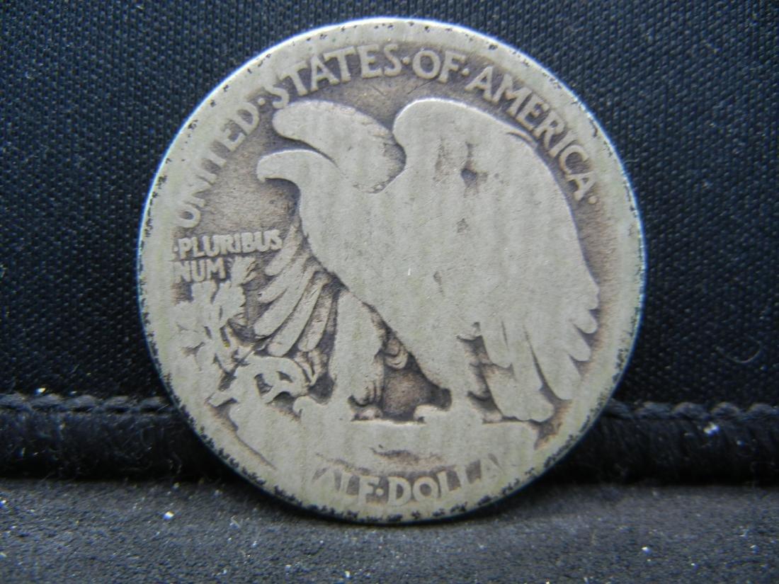 1916-D Walking Liberty Half Dollar - 2