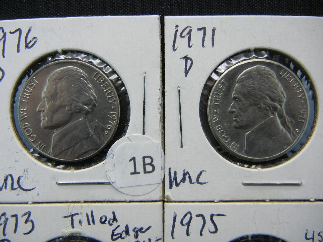 10 High Grade Jefferson Nickels - 2