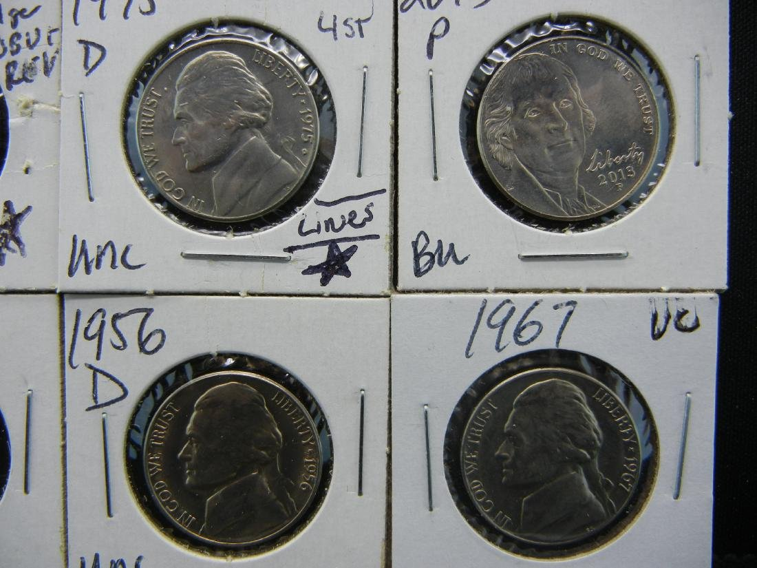 10 High Grade Jefferson Nickels - 4