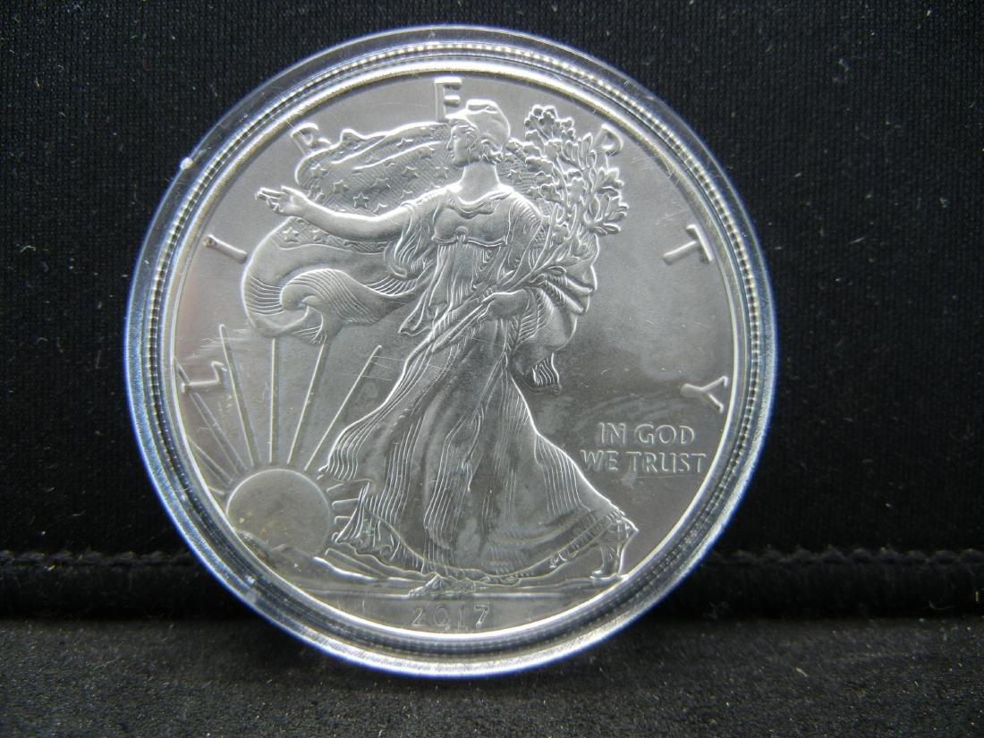 2017 American Silver Eagle .999 Fine Silver