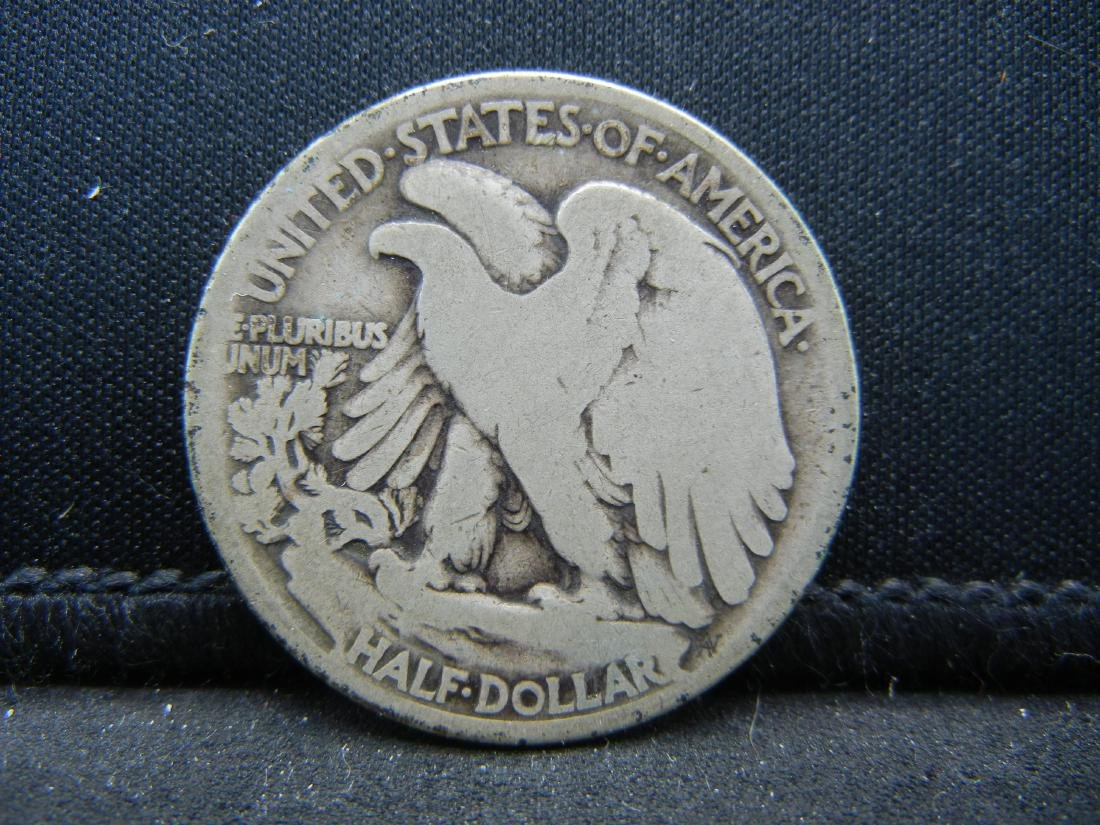 1917 Walking Liberty Half Dollar - 2