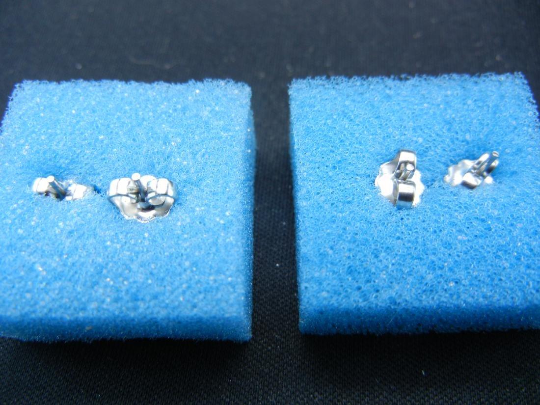 4 Sets of Letter Earrings B, E, O & P - 4