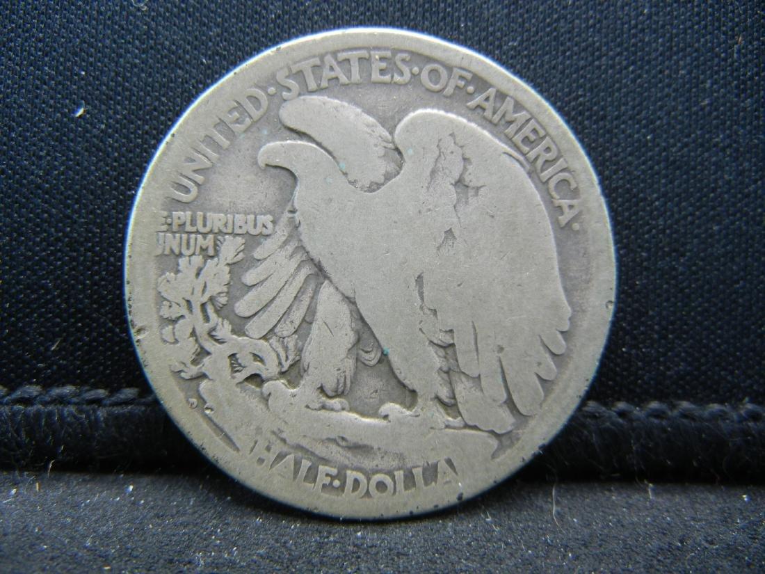 1917-D Walking Liberty Half Dollar - 2