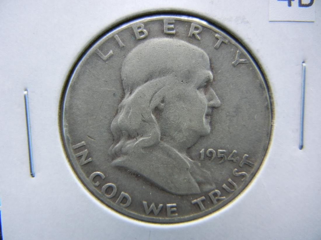 1954 Franklin Half Dollar