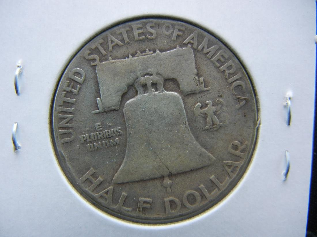 1954 Franklin Half Dollar - 2