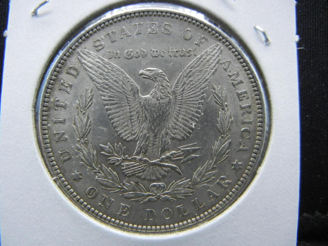1883 Morgan Silver Dollar. Nice UNC Full feathers! - 2