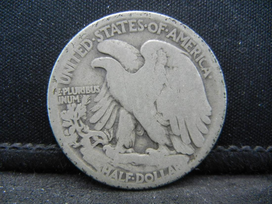 1918 Walking Liberty Half Dollar - 2