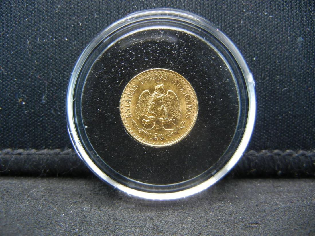 1945 Dos (2) Peso 90% Gold Coin from Mexico