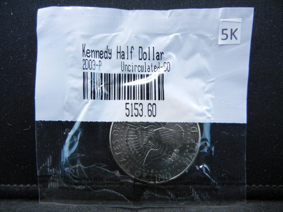 2003-P Kennedy Half Dollar Graded Uncirculated-60 by