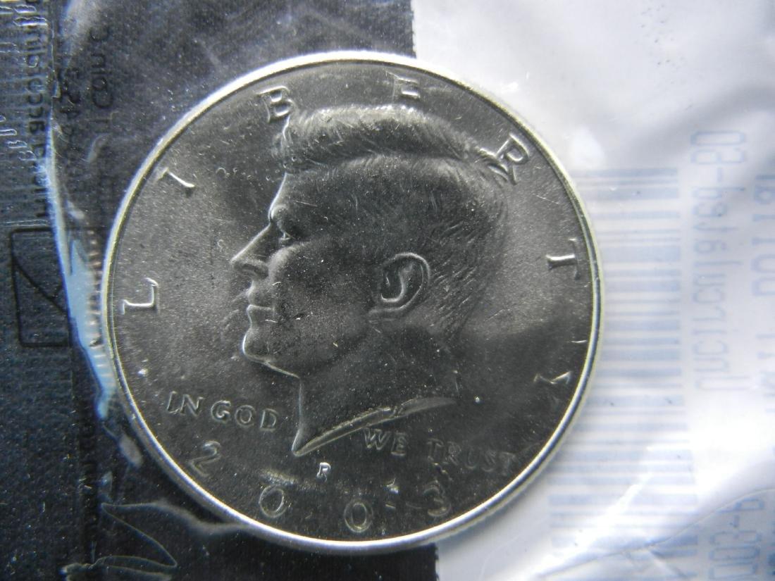 2003-P Kennedy Half Dollar Graded Uncirculated-60 by - 3
